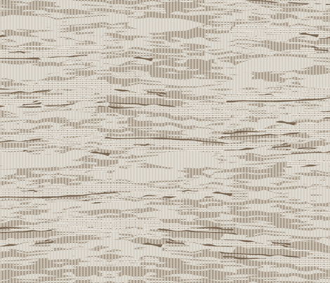 Faux Woven Wallpaper in Natural fabric by horn&ivory on Spoonflower - custom fabric