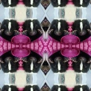 sweet skunk baby pink