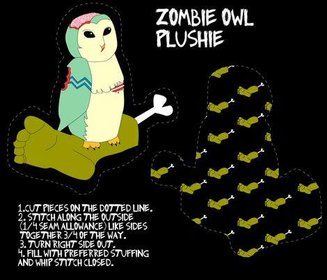 owl_verison3 fabric by lifebytrailanderror on Spoonflower - custom fabric