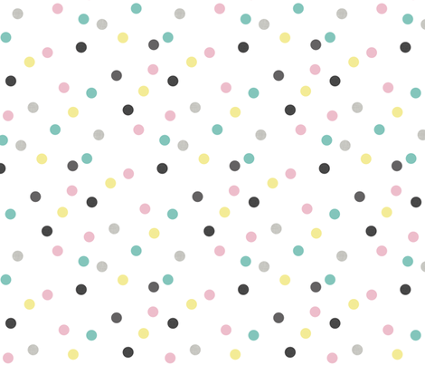 crazy dots fabric by katarina on Spoonflower - custom fabric