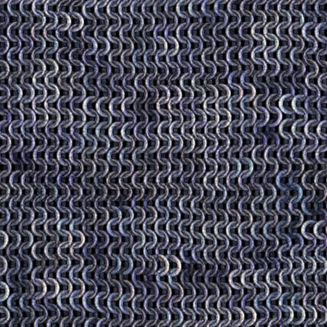 Chainmail - Silver / Steel fabric by bonnie_phantasm on Spoonflower - custom fabric
