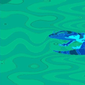 Leopard Gecko Fabric
