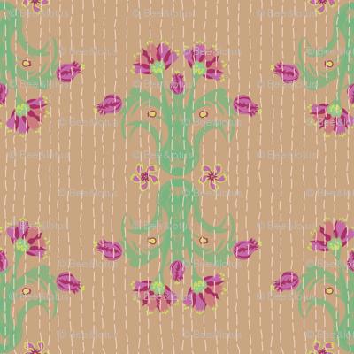 Kantha Bouquet 8