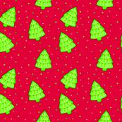 Twirl Christmas Trees - Light Colorway