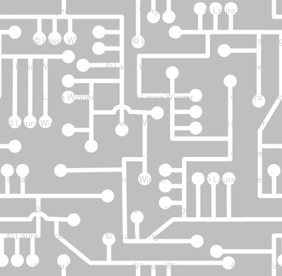 Circuit wallpaper fabric lowa84 spoonflower circuit wallpaper greentooth Choice Image