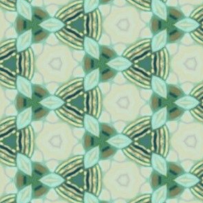 Tiles Complementing Fish Scale Design
