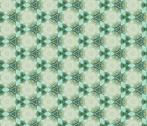 Tiles Complementing Fish Scale Design fabric by wren_leyland on Spoonflower - custom fabric