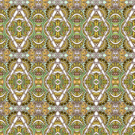 Diamond Vine fabric by edsel2084 on Spoonflower - custom fabric
