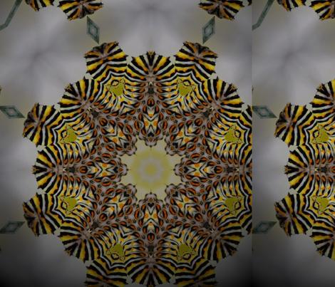 swallowtailcaterpillar2b fabric by aquakej on Spoonflower - custom fabric