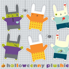 Halloweeny plushies