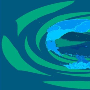 Big Takahe Bird