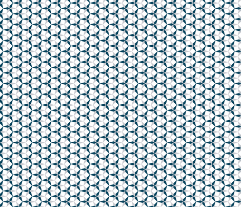 Blue and Gray Geometric fabric by mariafaithgarcia on Spoonflower - custom fabric