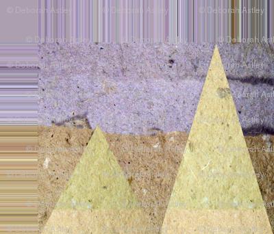 Handmade Paper Diamonds