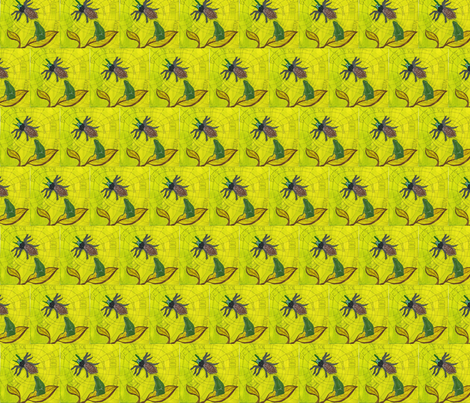 Halloween fabric by pink_finch on Spoonflower - custom fabric