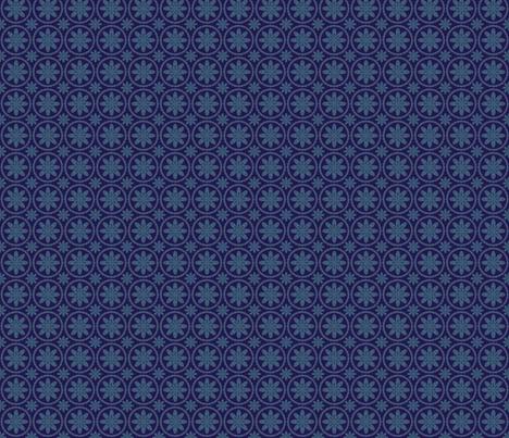 Dark Flower Rings fabric by olumna on Spoonflower - custom fabric