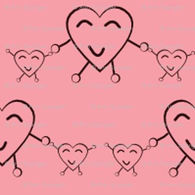 Happy Heart Twins