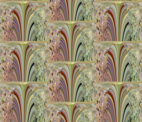 A Fountain of Handmade Paper fabric by anniedeb on Spoonflower - custom fabric