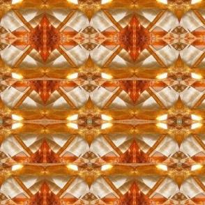 orange cut glass