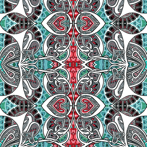 Spades in Search fabric by edsel2084 on Spoonflower - custom fabric