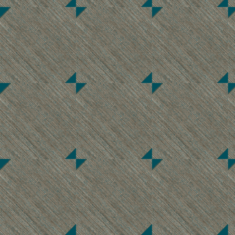Bow Tie - mid century modern look -  rich layers of grey are the backdrop for a teal bow tie pattern fabric by materialsgirl on Spoonflower - custom fabric