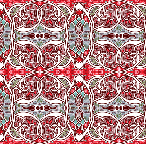 Country Love Hoedown fabric by edsel2084 on Spoonflower - custom fabric