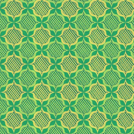 trellis_medallions_2 fabric by glimmericks on Spoonflower - custom fabric