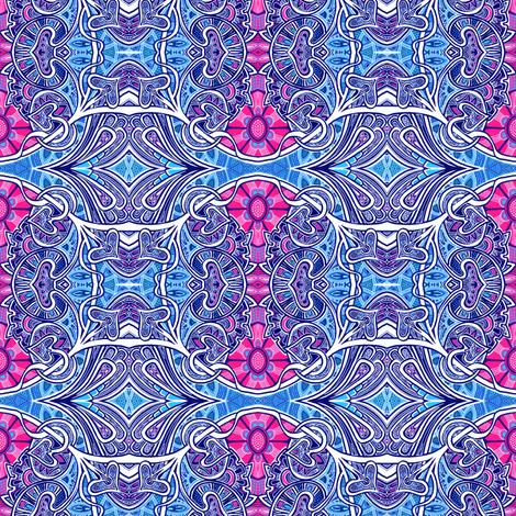 Nouveau Trippy Hippie fabric by edsel2084 on Spoonflower - custom fabric