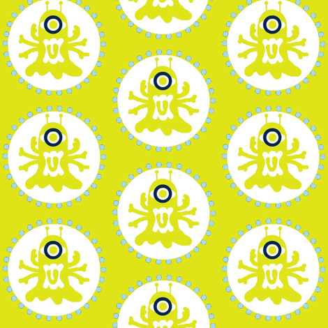 Spidyclops fabric by paragonstudios on Spoonflower - custom fabric