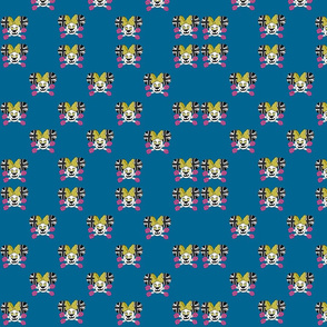 80's Mini Blue