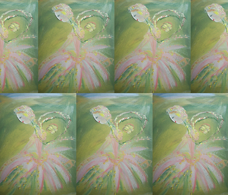 Elegant Fairy fabric by myartself on Spoonflower - custom fabric