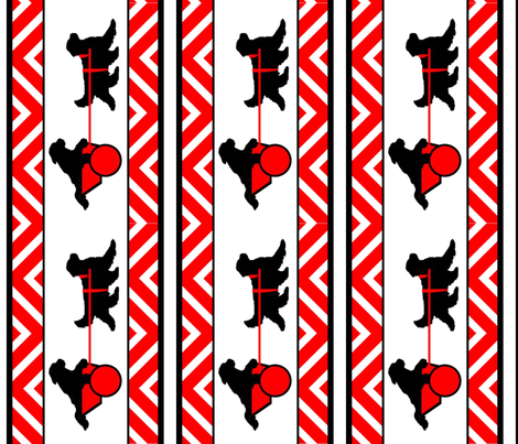 draft dog newfies fabric by dogdaze_ on Spoonflower - custom fabric
