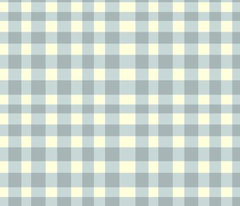 ginghamlightslate fabric by ragan on Spoonflower - custom fabric