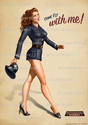 Battlestation_Midway_pin_up_1_by_henning
