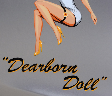 dearborn doll fabric by violetwalters on Spoonflower - custom fabric