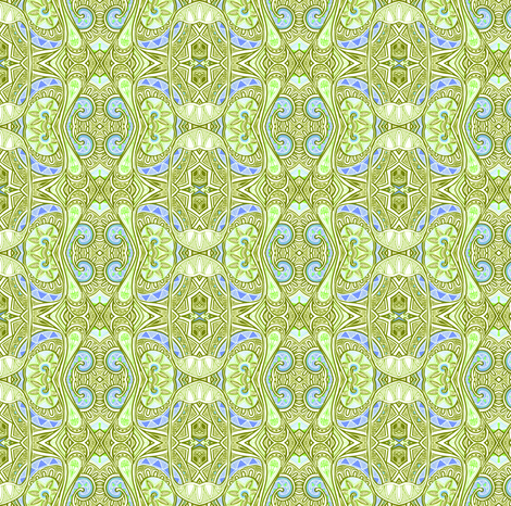 Relax in Pale Green  fabric by edsel2084 on Spoonflower - custom fabric