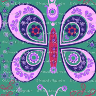 Papillons psychadel