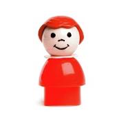 Rednose vintage doll