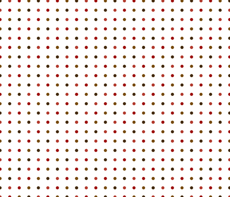 Small dots in earthtones fabric by melhales on Spoonflower - custom fabric