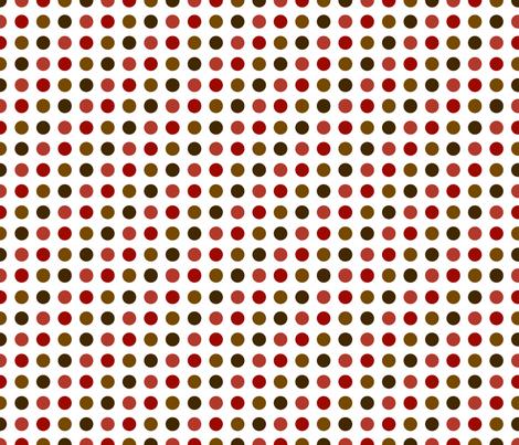 Earthtone Dots fabric by melhales on Spoonflower - custom fabric
