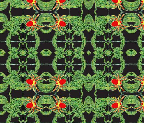 Jamjax  Spiders Spin fabric by jamjax on Spoonflower - custom fabric