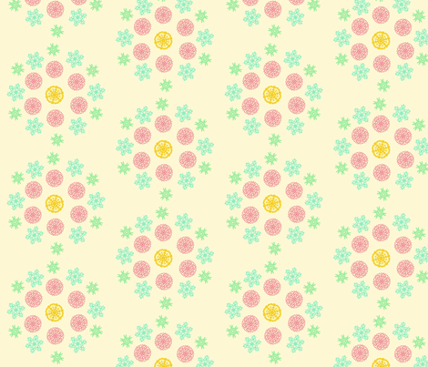 Desert_kaleidoscope fabric by fashionhippie on Spoonflower - custom fabric