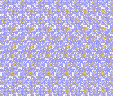 go this way periwinkle fabric by glimmericks on Spoonflower - custom fabric