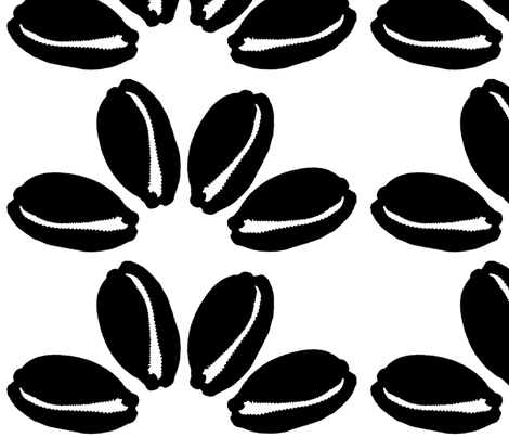 cowrie quattro fabric by nalo_hopkinson on Spoonflower - custom fabric