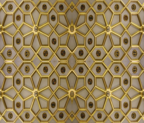 gold_gothic_3jpg fabric by flying_pigs on Spoonflower - custom fabric