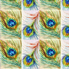 Peacock_2 Fat Quarter