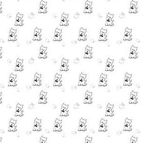 Dapper Westie & Pawprints