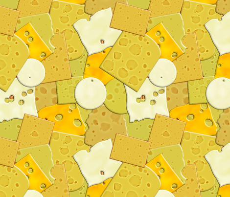 Got Cheese? fabric by bonnie_phantasm on Spoonflower - custom fabric