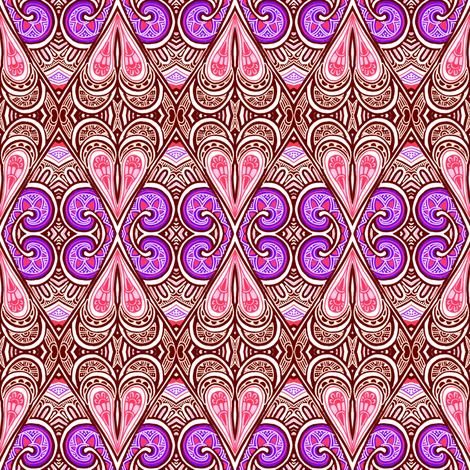 Are Hearts or Diamonds Trump? fabric by edsel2084 on Spoonflower - custom fabric