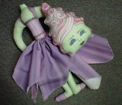 Marie Antoinette Decapitated Zombie Plush Doll
