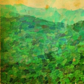 Oil Painting- Blue Ridge Mountains